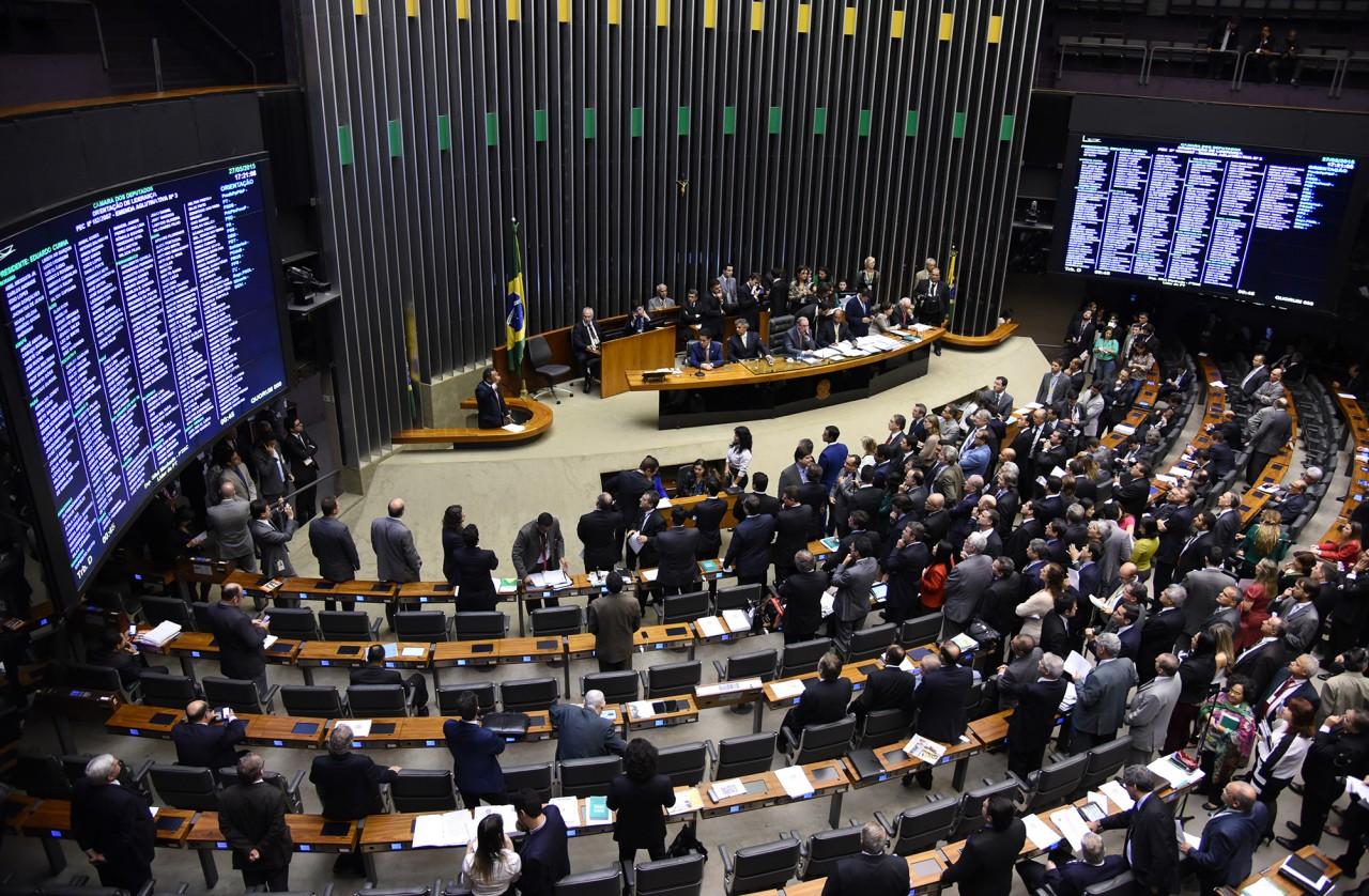 plenario camara 28 28 bbb - Partidos definem quais cargos ocuparão na Mesa Diretora da Câmara Federal; confira