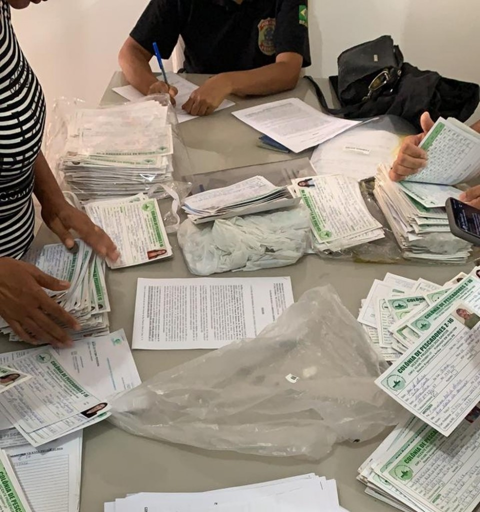 policia federal defeso - OPERAÇÃO DEFESO: PF investiga fraudes em pedido de seguro-desemprego de pescador artesanal, na PB