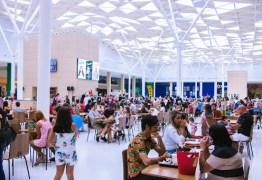 Praças de alimentação dos Shoppings de João Pessoa já podem funcionar até meia-noite
