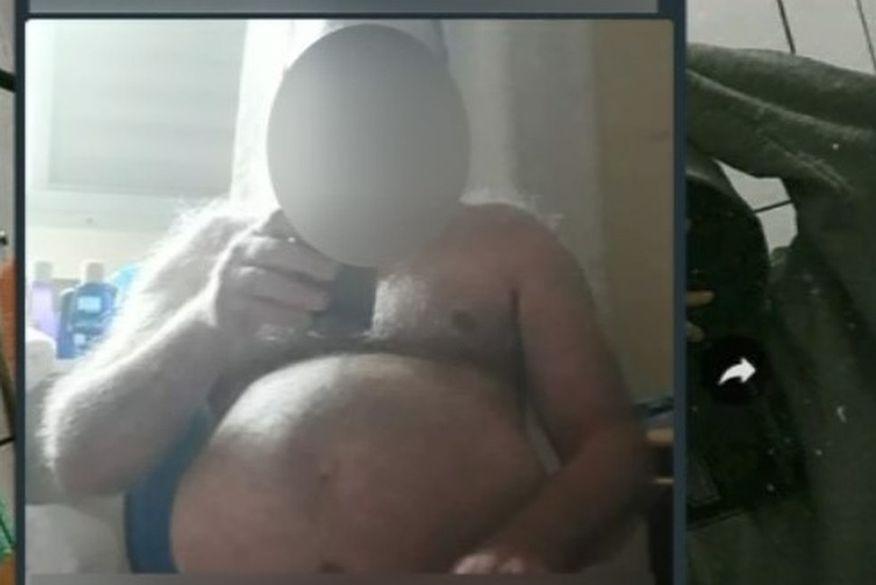 print    copia 1 - 'ERRO DE ENVIO': professor envia foto nu para grupo de alunos e afirma ser naturista; confira