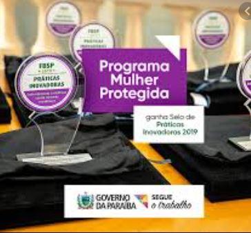 projeto - Programa Mulher Protegida ganha destaque em prêmio nacional