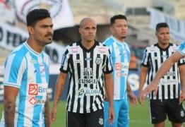 Paysandu enfrenta Treze e vence disputa na Série C