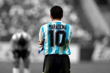 1 5fbec2ca86dd4 20589796 - Técnico de clube europeu pede que Fifa exclua número 10 das competições, em homenagem a Maradona