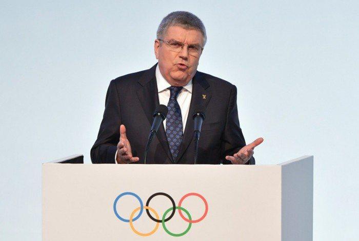 1 bach 5754079 - Vacina não será obrigatória para atletas disputarem Jogos de Tóquio, afirma presidente do COI