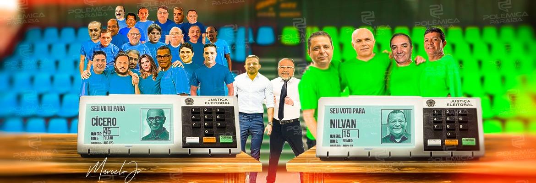 1ebdce85 ed74 439f 96c6 34965fb24fc9 - APOIO POLÍTICO: maior parte dos vereadores eleitos apoia o candidato Cícero; Nilvan recebe apoio de apenas 3