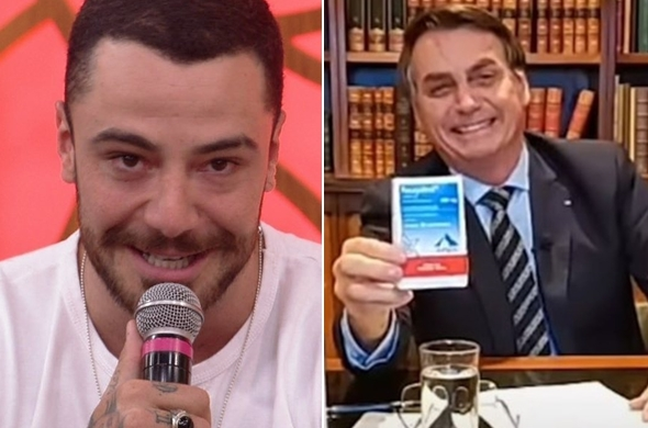 20201109 cats - Felipe Titto usa cloroquina e emite opinião inesperada sobre Jair Bolsonaro - VEJA VÍDEO