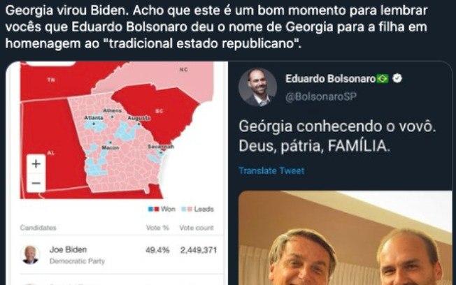 2aebvbpf4k8lafpqv3px8fax7 - Eduardo Bolsonaro vira meme nas redes sociais após Biden liderar na Geórgia