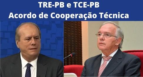 8ed1dad3 c37b 4231 8fe7 80a5a227e02a - TRE-PB e TCE-PB firmam acordo de cooperação para exame de contas eleitorais