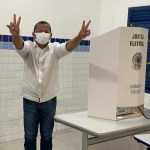9f5eae30 4c89 437d 9fed 4fd8af418fca - Nilvan Ferreira vota e se diz confiante na vitória