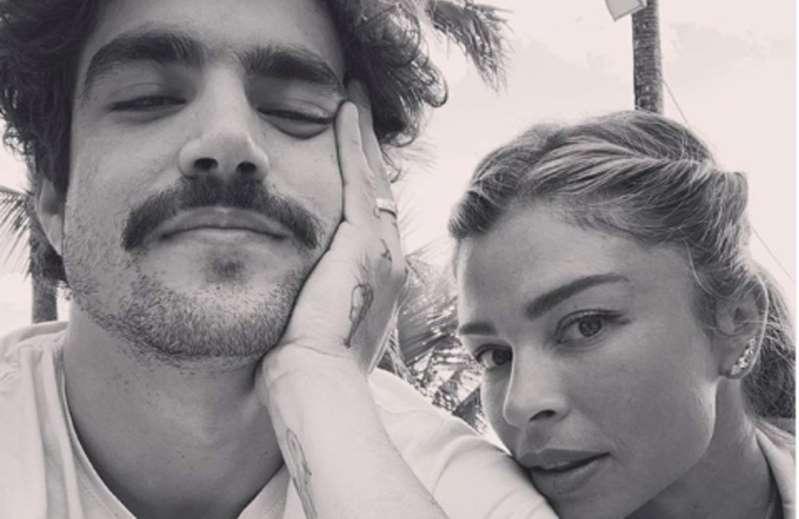 BB1aZ3lN - Caio Castro se diverte com notícias sobre suposto término com Grazi Massafera