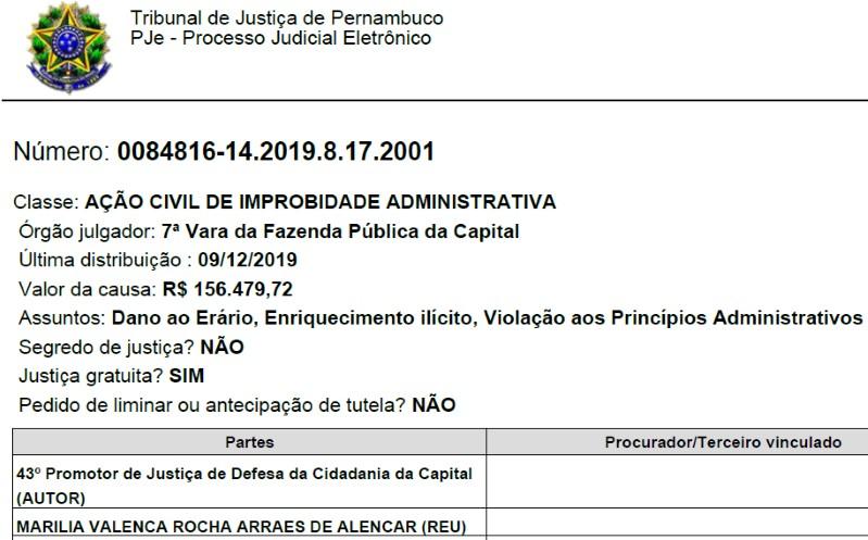 BB1beyAk - MP pede que Marília Arraes devolva R$ 156 mil aos cofres públicos