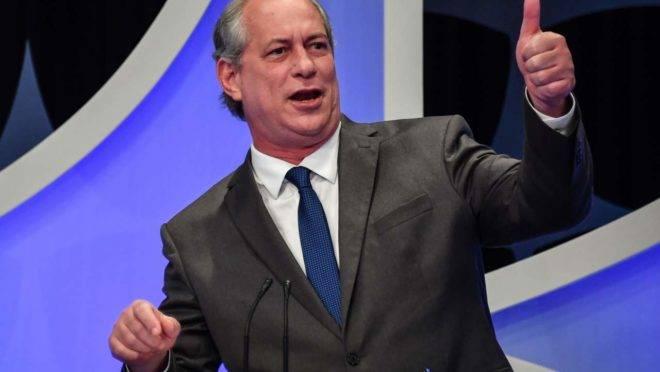 CIRO - Ciro Gomes: se Doria, Huck e Moro são centro, sou ultra-esquerda
