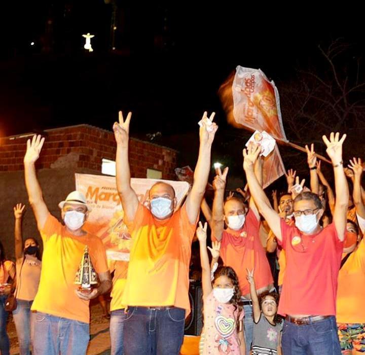 Entrando na reta final da campanha Marquinhos Campos empolga - Campanha de Marquinhos Campos cresce e promete acabar com o revezamento de grupos políticos na Prefeitura de Cajazeiras