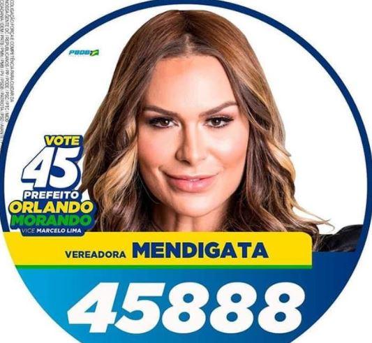 """FERNANDA LACERDA - Quatro ex-participantes de """"A Fazenda"""" viram suplentes na eleição"""