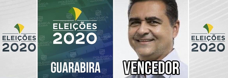 Guarabira Marcus Diôigo - ELEIÇÕES 2020: Marcus Diogo é reeleito prefeito da cidade de Guarabira, na Paraíba