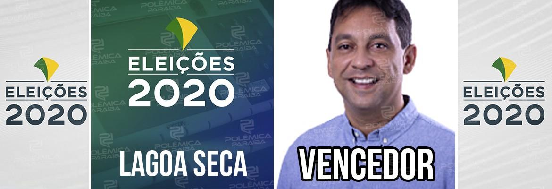Lagoa Seca Fábio - ELEIÇÕES 2020: Fábio Ramalho é eleito prefeito de Lagoa Seca com 83,80% dos votos
