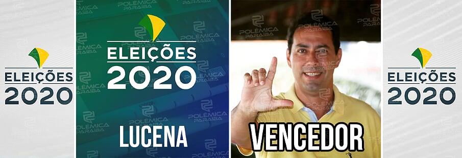 Lucena Leo Bandeira - ELEIÇÕES 2020: Leo Bandeira é eleito prefeito de Lucena