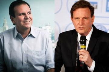 Rio: Paes tem 55% e Crivella, 23%, segundo Datafolha