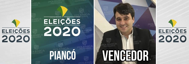 Piancó 1 - Daniel Galdino é reeleito prefeito de Piancó