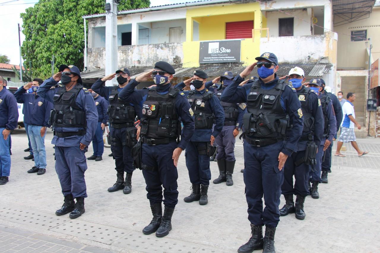 Posse Guardas Municipais 18 - Prefeitura de Conde dá posse a 20 novos agentes da Guarda Municipal