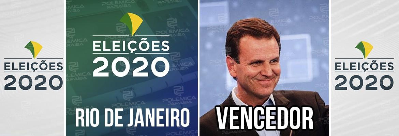 Rio de Janeiro Eduardo Paes - Eduardo Paes é eleito prefeito do Rio de Janeiro