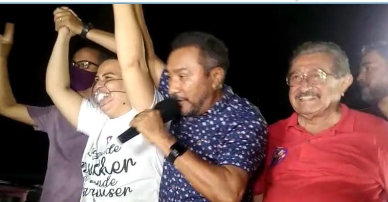 SAMUKA - BAYEUX: Radialista Samuka Duarte anuncia apoio a candidatura de Luciene de Fofinho - VEJA VÍDEO