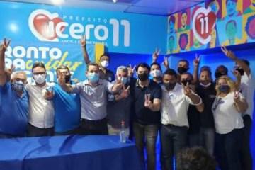 Partido PROS participa de reunião e reafirma apoio a Cícero Lucena para prefeito de João Pessoa