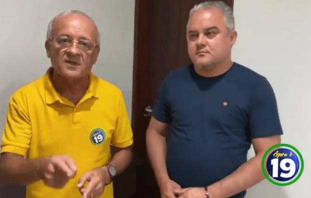 Sem titulo 4 - Ao lado de Renato, Branco Mendes garante recurso contra indeferimento de sua candidatura em Alhandra; VEJA VÍDEO