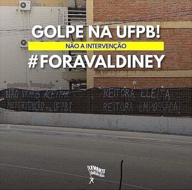 WhatsApp Image 2020 11 05 at 10.46.55 - Entidades estudantis protestam e marcam ato público contra posse de novo reitor da UFPB