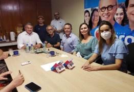 """Dois partidos anunciam apoio a Cícero Lucena """"Acreditamos no projeto"""""""