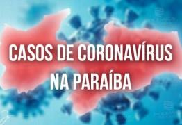 Paraíba registra 102 novos casos de Covid-19 nas últimas 24h