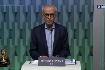 DEBATE TV CABO BRANCO: Vamos rever o preço da passagem de ônibus, diz Cícero Lucena