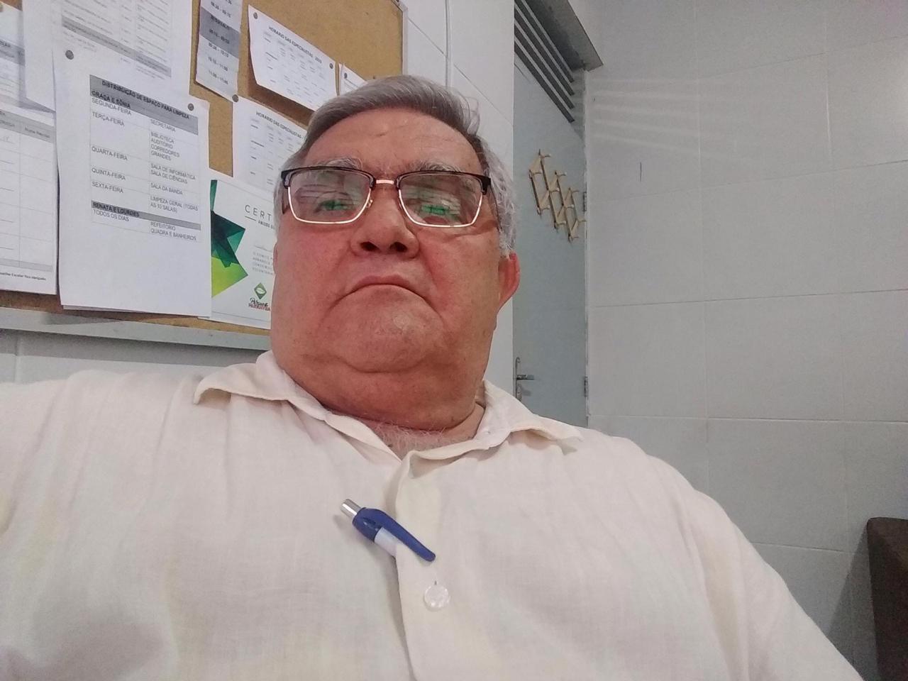 abraao - LUTO NO MAGISTÉRIO: morre vice-presidente da APLP, Abraão Alves de Carvalho