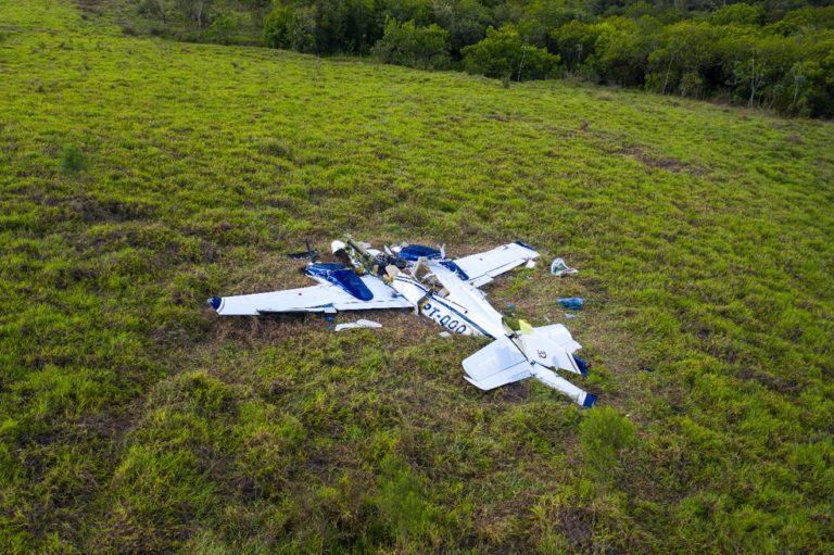 avião - URGENTE: Empresário paraibano morre em queda de avião em São Paulo