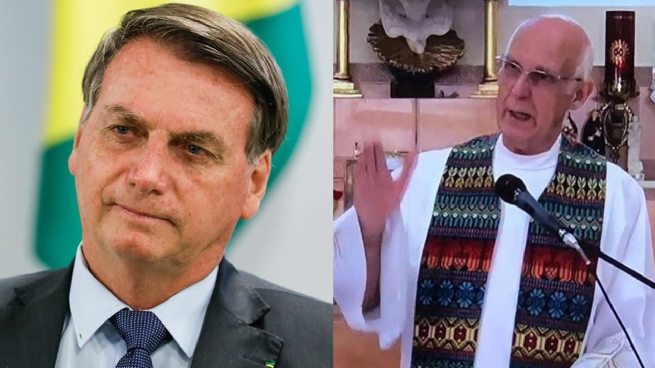 bolsonaro x padre 1280x720 1 - Bolsonaro perde ação movida contra o padre Júlio Lancelotti