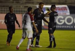 GOLEADA: Na volta de Piza e Marcos Aurélio, Botafogo-PB vence por 7 a 0 e ganha esperança contra o rebaixamento