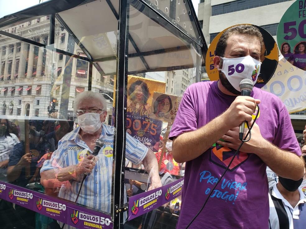 boulos - SÃO PAULO: PT formaliza apoio a Guilherme Boulos