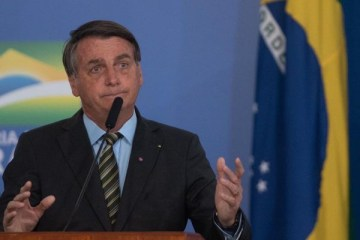bozo - 'Pergunta para o vírus', diz Bolsonaro sobre possibilidade de prorrogar auxílio