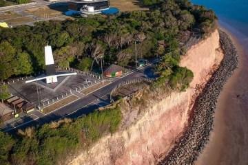 cabo branco - Obra de proteção da Barreira do Cabo Branco é entregue em João Pessoa