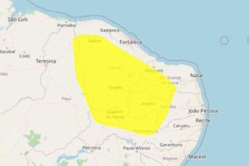 Inmet emite alerta amarelo de baixa umidade para 111 municípios da Paraíba