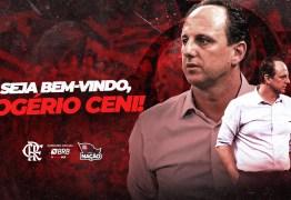 Flamengo oficializa a contratação de Rogério Ceni