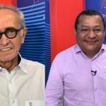 cicero e nilvan  - PESQUISA IBOPE: Cícero Lucena lidera corrida eleitoral com 44% das intenções de voto; Nilvan tem 36%