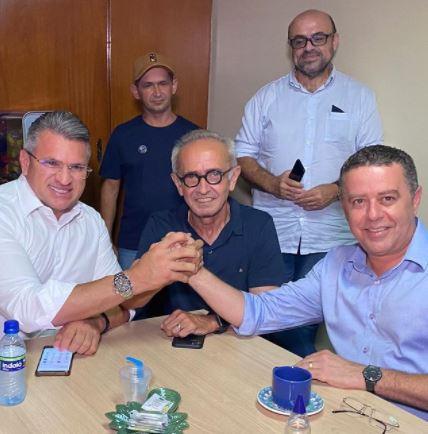 """cicero - Dois partidos anunciam apoio a Cícero Lucena """"Acreditamos no projeto"""""""