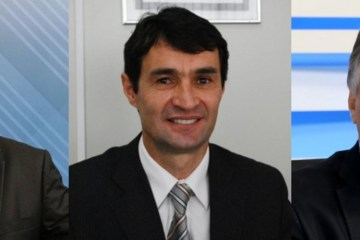 colagem - TERÇA GALDINIANA:  Disputa de 2022... João X Romero X Cartaxo - Por Rui Galdino