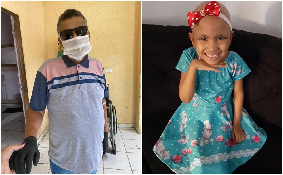criança - Filha doa dinheiro de 'vaquinha' de pai que morreu com câncer para criança com a doença