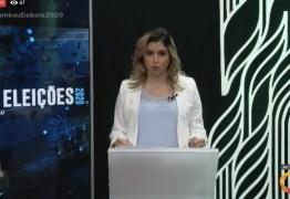 TV Tambaú realizou último debate televisivo entre candidatos a prefeito de João Pessoa – VEJA NA ÍNTEGRA