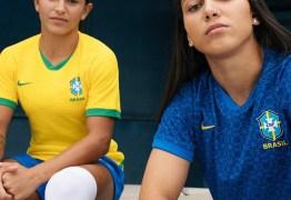 Seleção brasileira feminina lança novo uniforme e retira as cinco estrelas da seleção masculina do escudo