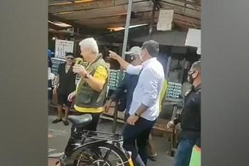 e374b6c9 ae93 455d 9eb2 f6d3591bb7bd 1000x600 1 - Sikêra Júnior é vaiado e expulso de feira em Belém do Pará - VEJA VÍDEO