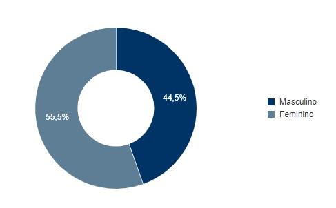 gênero joao pessoa - SEGUNDO TURNO: confira em números o perfil do eleitor pessoense nestas eleições – VEJA GRÁFICOS