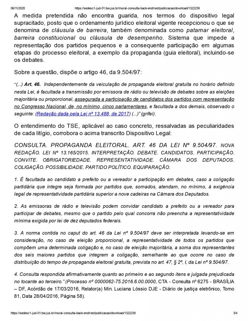 joao pessoa 3 - Juíza nega pedido de participação de candidato em debate promovido por emissora de televisão em João Pessoa